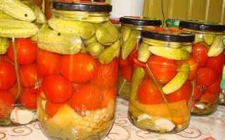 Рецепт вкусного ассорти из огурцов и помидоров на зиму: маринованные, консервированные и соленые в бочках видео