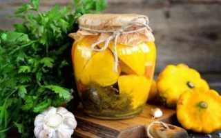 Патиссоны «как грибы»: рецепт на зиму