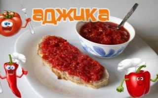Аджика домашняя: рецепт самой вкусной домашней аджики