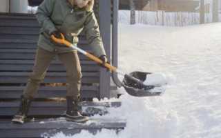 Лопата для уборки снега Fiskars: особенности применения автомобильных снегоуборочных лопат