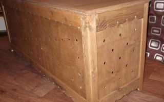 Ящик для хранения картофеля в квартире зимой: как содержать на балконе и в остальных местах, можно ли класть другие овощи, и как сделать контейнер своими руками?