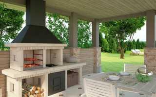Как сделать печь для летней кухни своими руками