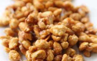 Арахис в сахаре: самые простые рецепты восточного лакомства