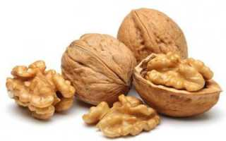 Полезный грецкий орех