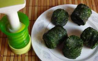 Как правильно заморозить зелень на зиму в морозилке в домашних условиях