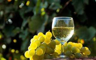 Домашнее белое вино, как приготовить этот чудесный напиток?