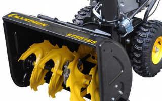 Снегоуборщик бензиновый Champion ST861BS технические характеристики, цена, отзывы владельцев