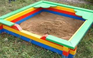 Песочница для детей на дачу своими руками: идеи для детской площадки